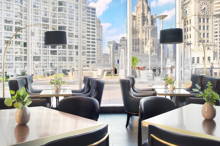 Real Estate Photography - 401 N Wabash, Unit 53E, Chicago, IL, 60611 - Restaurant