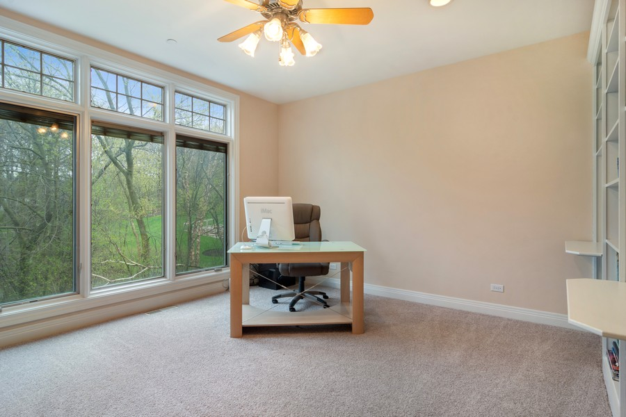 Real Estate Photography - 46 Inverway Rd, Inverness, IL, 60067 - Study