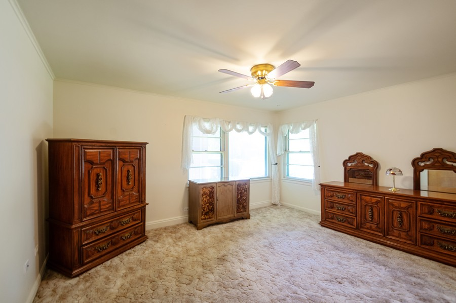 Real Estate Photography - 6380 North Ionia Ave, Chicago, IL, 60646 - Master Bedroom