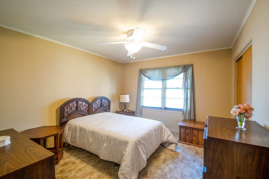 Real Estate Photography - 6380 North Ionia Ave, Chicago, IL, 60646 - 3rd Bedroom