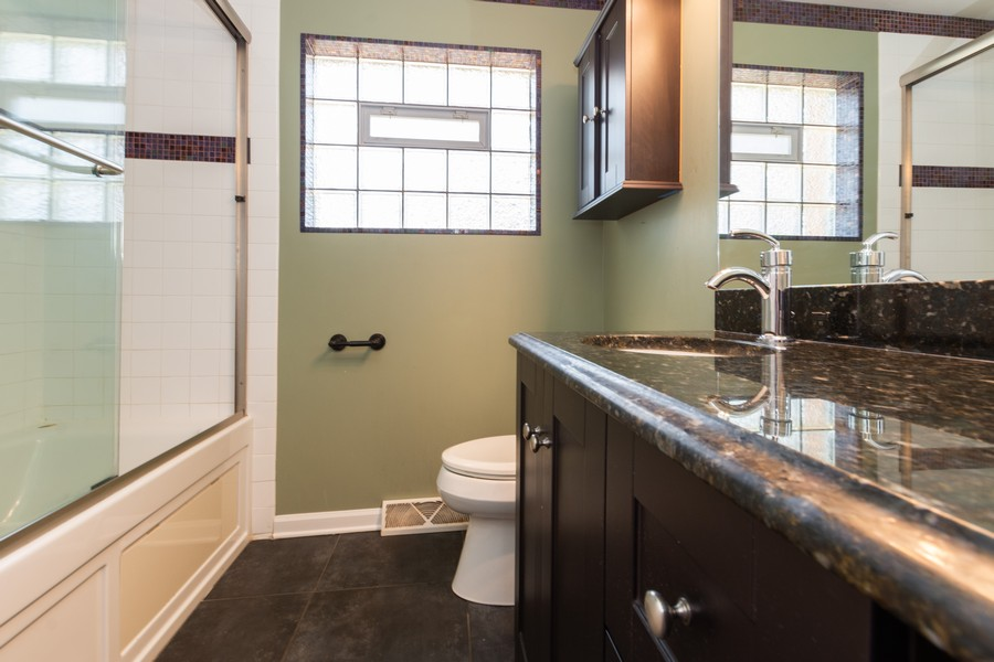Real Estate Photography - 11720 South Harding Ave, Alsip, IL, 60803 - Bathroom