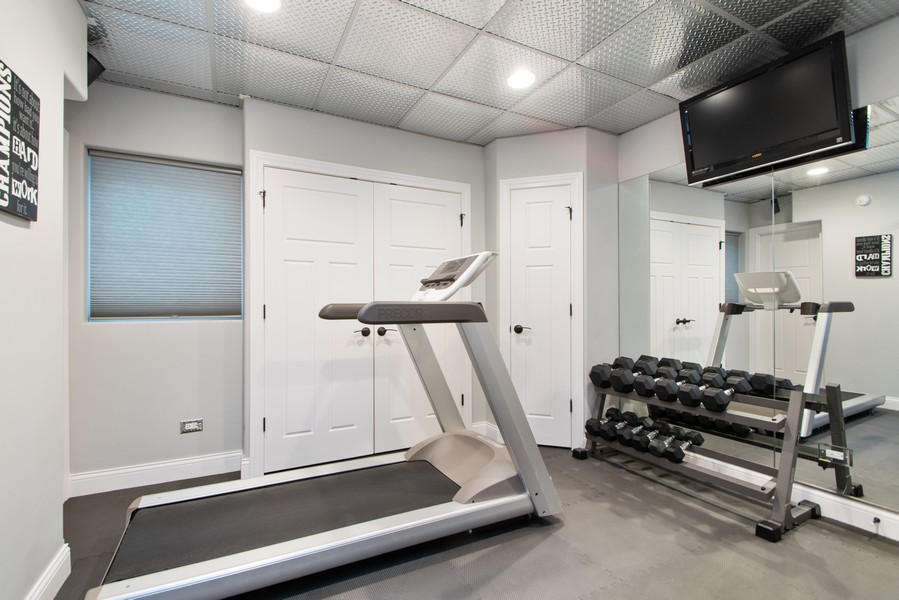 Real Estate Photography - 11828 Brooke Ct, Frankfort, IL, 60423 - Workout Room