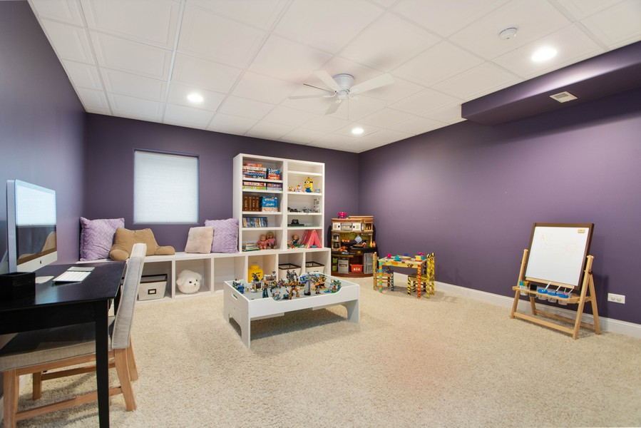 Real Estate Photography - 11828 Brooke Ct, Frankfort, IL, 60423 - Play / Recreational Room