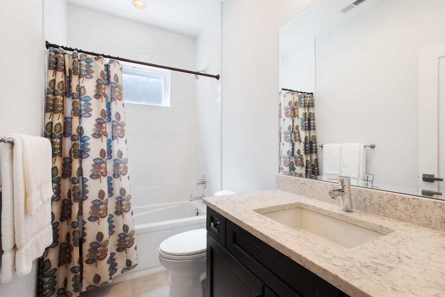 Real Estate Photography - 457 North Aberdeen St, 4S, Chicago, IL, 60642 - Bathroom