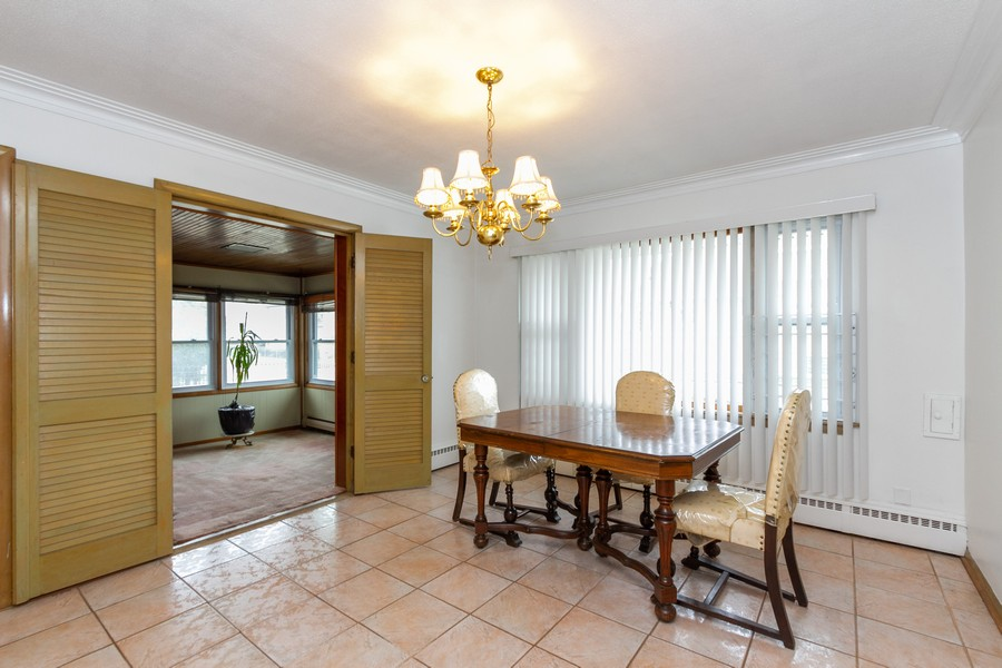 Real Estate Photography - 8057 South Honore St, Chicago, IL, 60620 - Dining Room