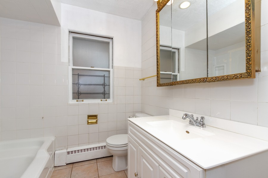 Real Estate Photography - 8057 South Honore St, Chicago, IL, 60620 - Bathroom
