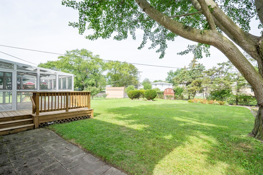 Real Estate Photography - 945 North Quince Ln, Mount Prospect, IL, 60056 - Back Yard