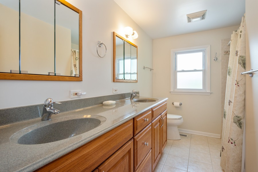 Real Estate Photography - 945 North Quince Ln, Mount Prospect, IL, 60056 - 2nd Bathroom