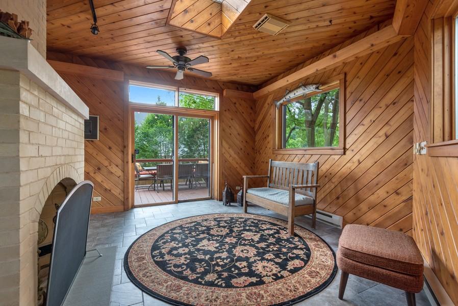Real Estate Photography - 1128 Ridge Ave, Evanston, IL, 60202 - Kitchen Porch