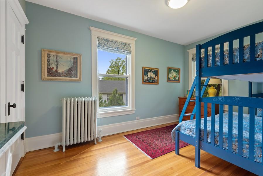 Real Estate Photography - 1128 Ridge Ave, Evanston, IL, 60202 - 4th Bedroom