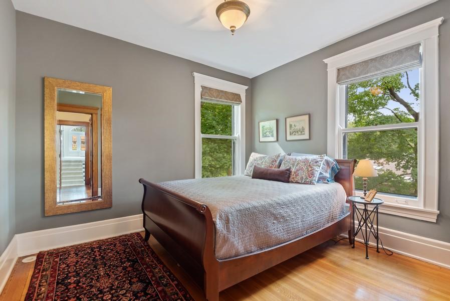 Real Estate Photography - 1128 Ridge Ave, Evanston, IL, 60202 - 5th Bedroom