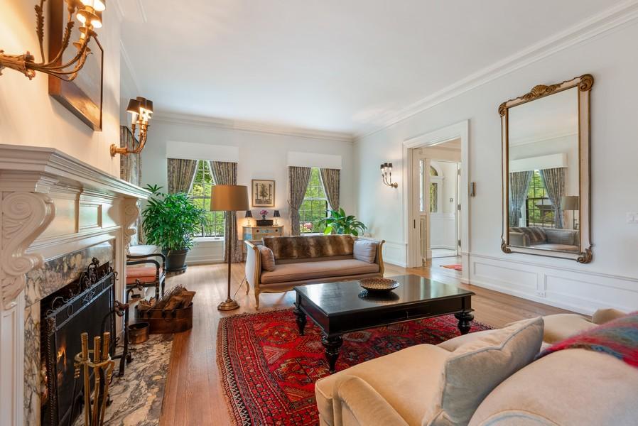Real Estate Photography - 1128 Ridge Ave, Evanston, IL, 60202 - Living Room