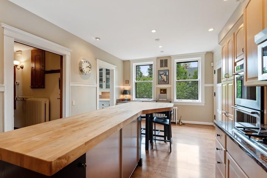 Real Estate Photography - 1128 Ridge Ave, Evanston, IL, 60202 - Kitchen