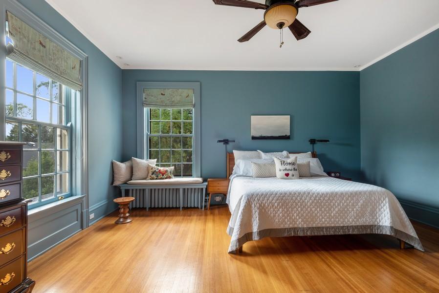 Real Estate Photography - 1128 Ridge Ave, Evanston, IL, 60202 - Master Bedroom