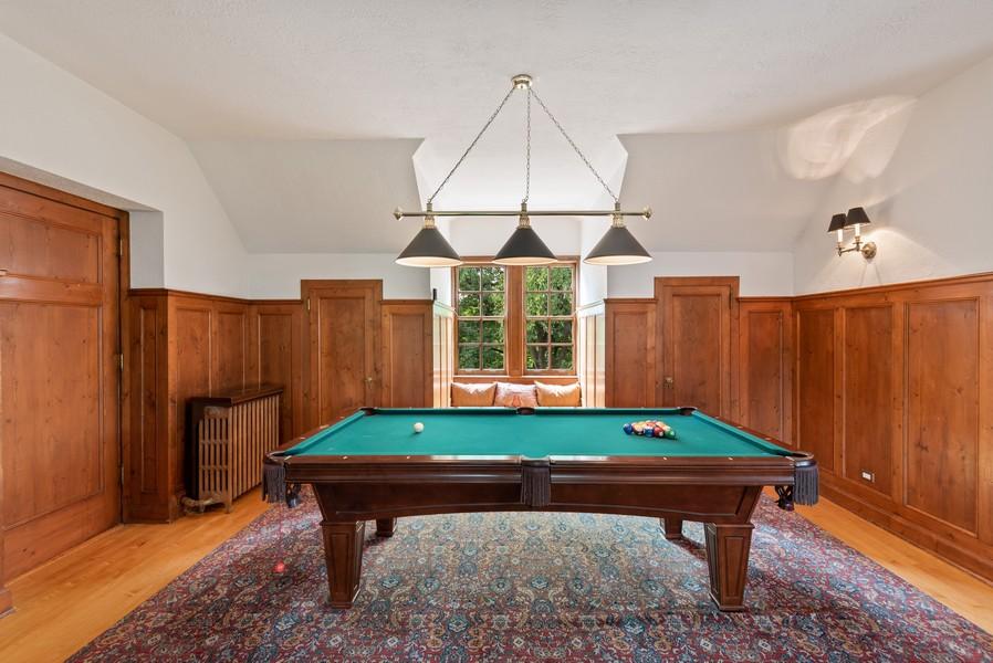 Real Estate Photography - 1128 Ridge Ave, Evanston, IL, 60202 - Game Room