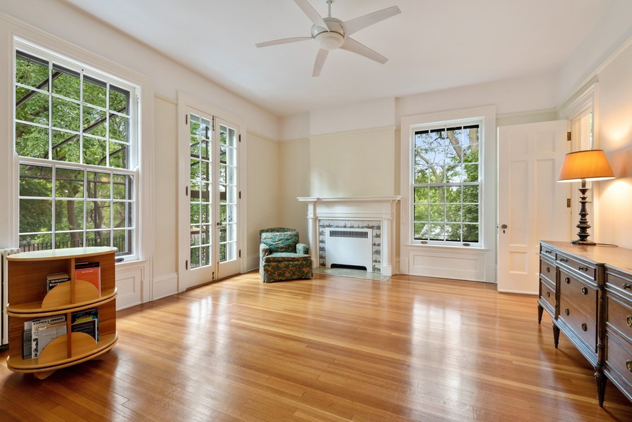 Real Estate Photography - 1128 Ridge Ave, Evanston, IL, 60202 - Bedroom