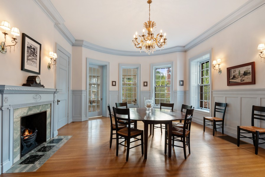 Real Estate Photography - 1128 Ridge Ave, Evanston, IL, 60202 - Dining Room