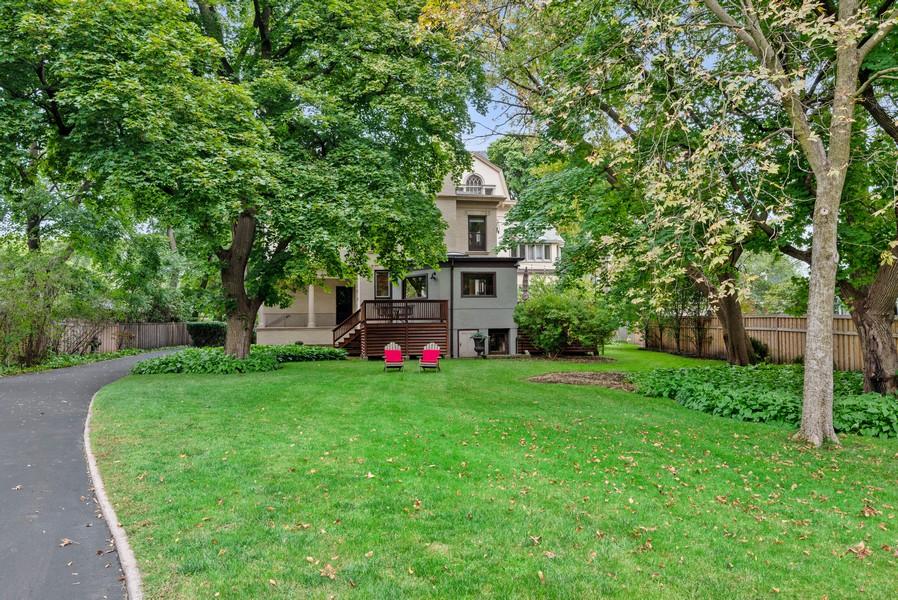 Real Estate Photography - 1128 Ridge Ave, Evanston, IL, 60202 - Back Yard