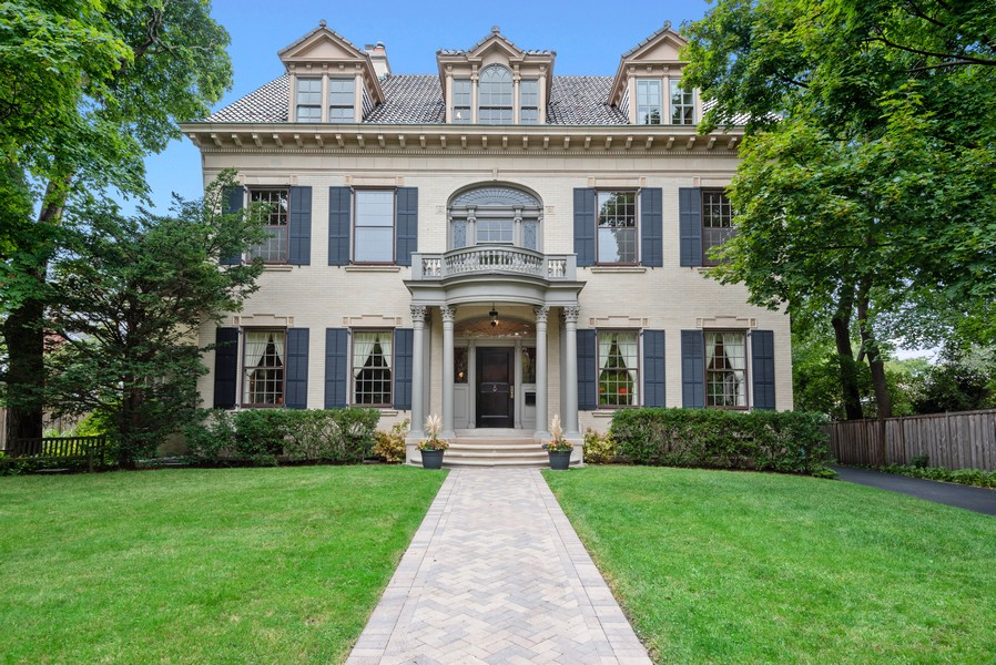 Real Estate Photography - 1128 Ridge Ave, Evanston, IL, 60202 - Front View