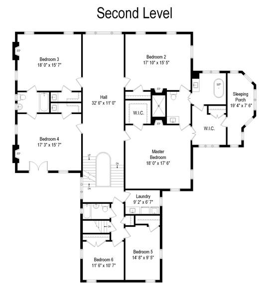 Real Estate Photography - 1128 Ridge Ave, Evanston, IL, 60202 - Floor Plan