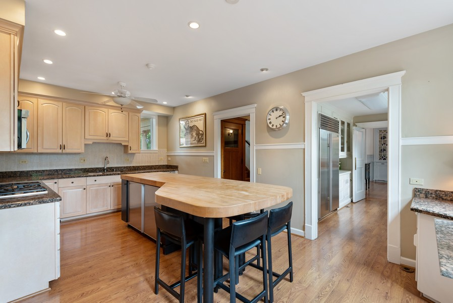 Real Estate Photography - 1128 Ridge Ave, Evanston, IL, 60202 - Kitchen with Butler's Pantry