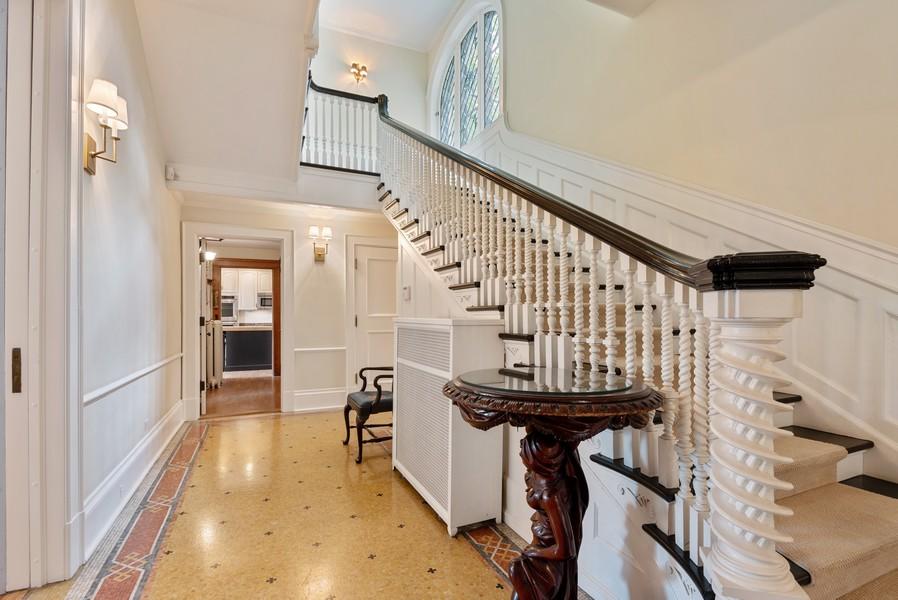 Real Estate Photography - 1128 Ridge Ave, Evanston, IL, 60202 - Staircase