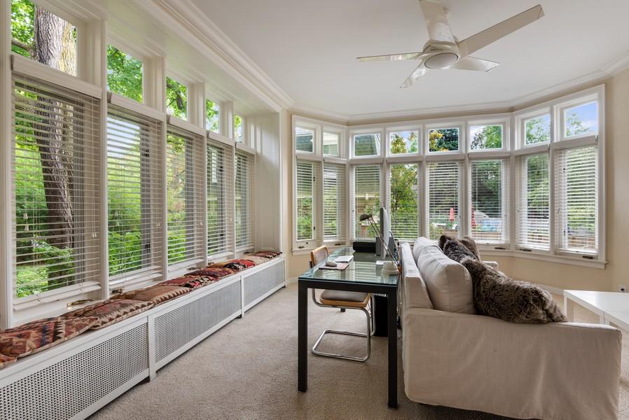 Real Estate Photography - 1128 Ridge Ave, Evanston, IL, 60202 - Sunroom