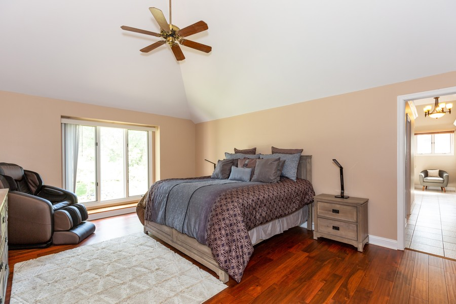 Real Estate Photography - 6S222 New Castle Rd, Naperville, IL, 60540 - Master Bedroom