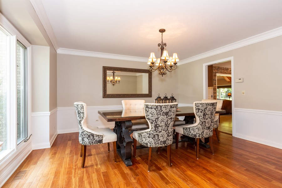 Real Estate Photography - 6S222 New Castle Rd, Naperville, IL, 60540 - Dining Room