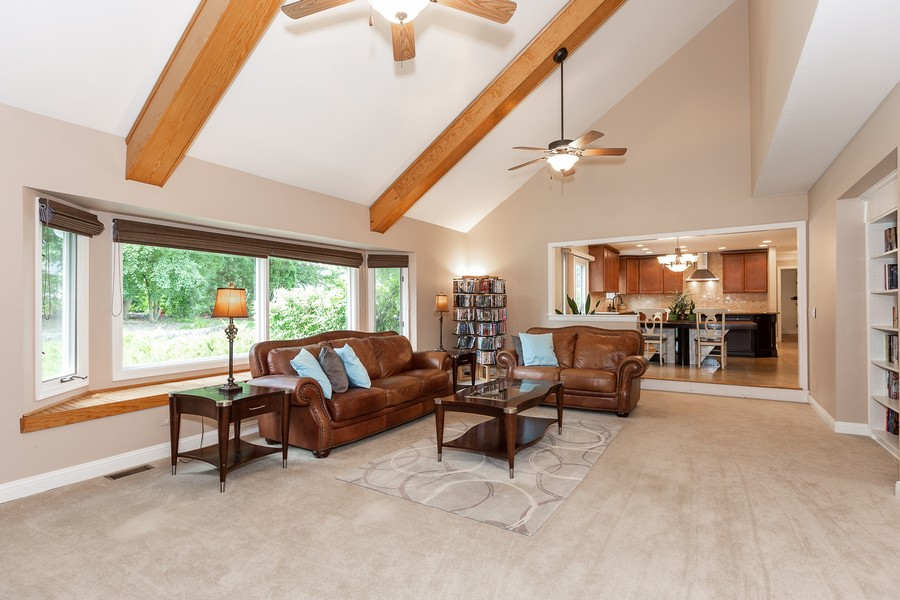 Real Estate Photography - 6S222 New Castle Rd, Naperville, IL, 60540 - Family Room