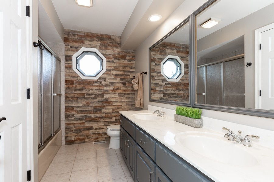 Real Estate Photography - 6S222 New Castle Rd, Naperville, IL, 60540 - Bathroom