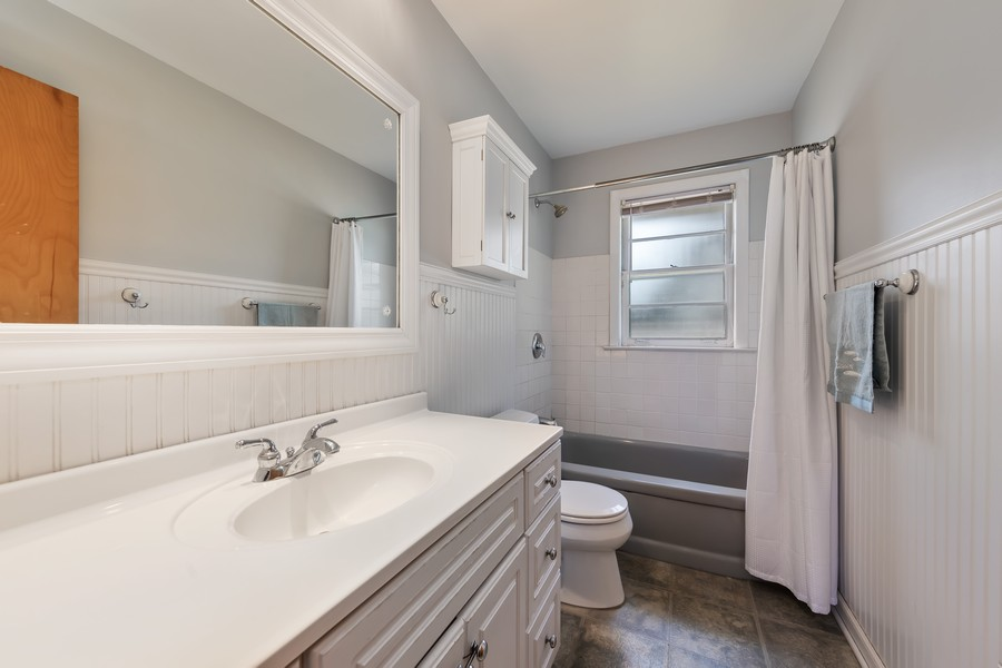 Real Estate Photography - 276 Walker Ave, Clarendon Hills, IL, 60514 - Bathroom