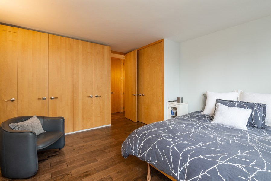 Real Estate Photography - 33 East Cedar St, 16D, Chicago, IL, 60611 - Bedroom