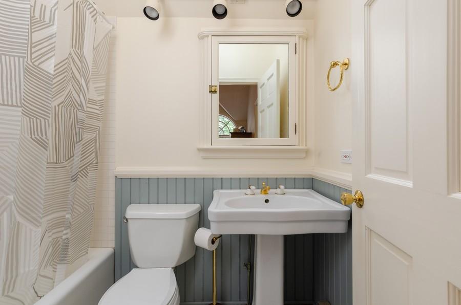 Real Estate Photography - 1027 Judson Ave, Evanston, IL, 60202 - Master Bathroom