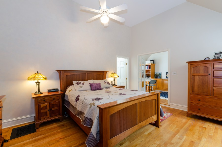 Real Estate Photography - 1027 Judson Ave, Evanston, IL, 60202 - Master Bedroom