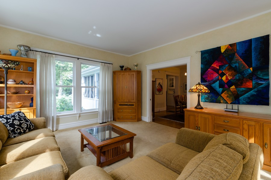 Real Estate Photography - 1027 Judson Ave, Evanston, IL, 60202 - Family Room
