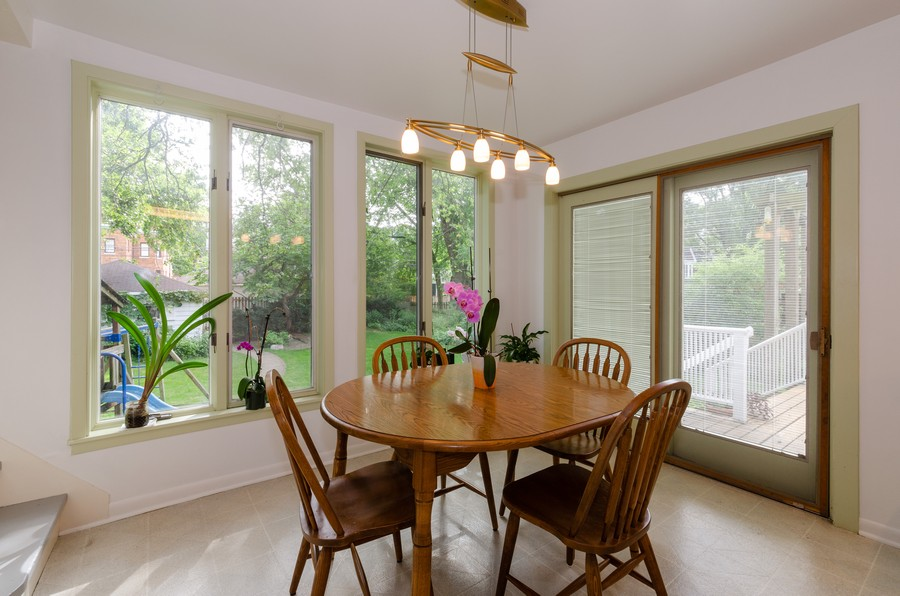 Real Estate Photography - 1027 Judson Ave, Evanston, IL, 60202 - Breakfast Room