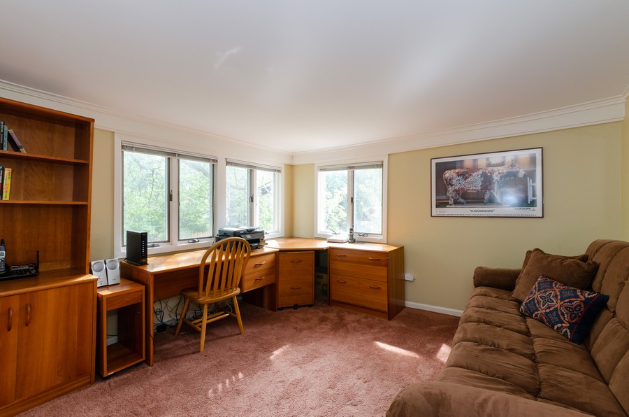 Real Estate Photography - 1027 Judson Ave, Evanston, IL, 60202 - 4th Bedroom/Office