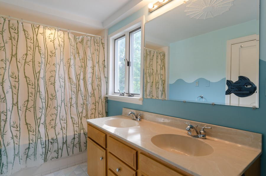 Real Estate Photography - 1027 Judson Ave, Evanston, IL, 60202 - Hall Bathroom