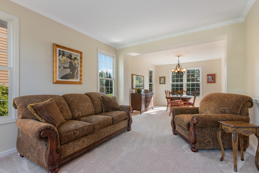 Real Estate Photography - 8420 Watson Cir, Lakewood, IL, 60014 - Living Room