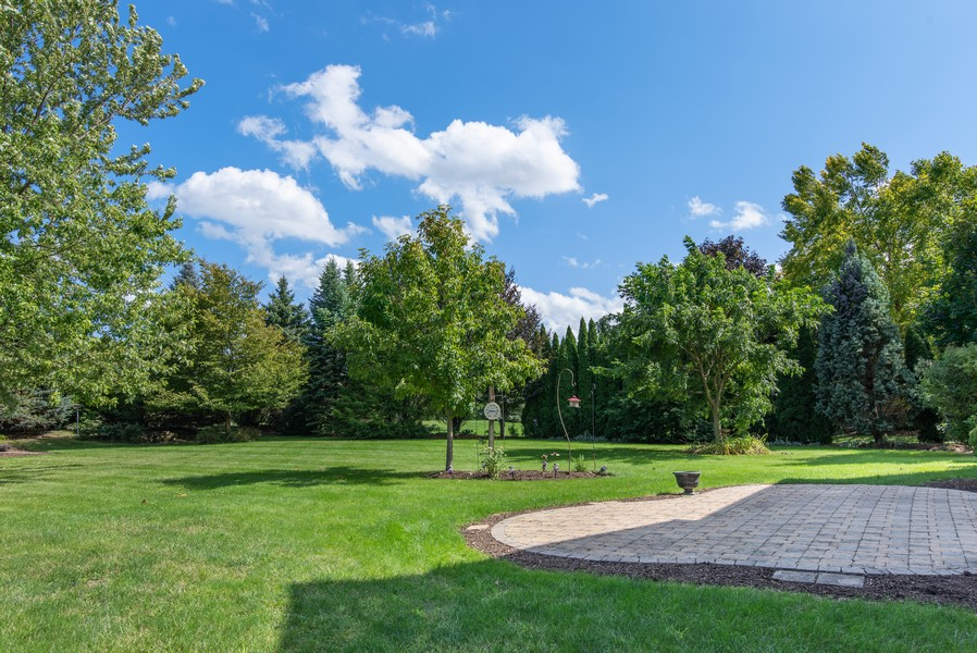 Real Estate Photography - 8420 Watson Cir, Lakewood, IL, 60014 - Back Yard