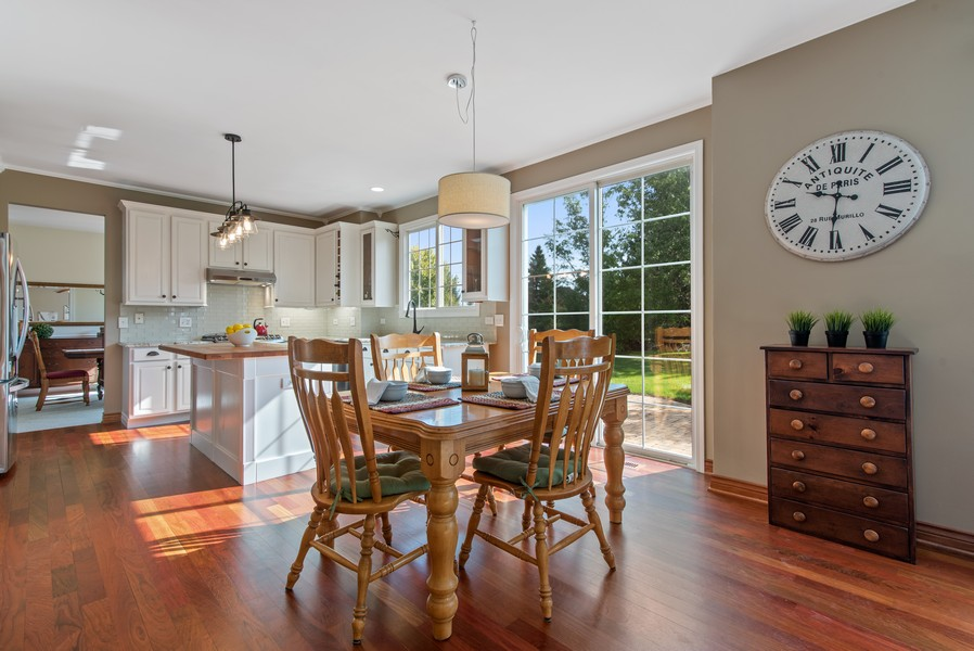 Real Estate Photography - 8420 Watson Cir, Lakewood, IL, 60014 - Breakfast Area