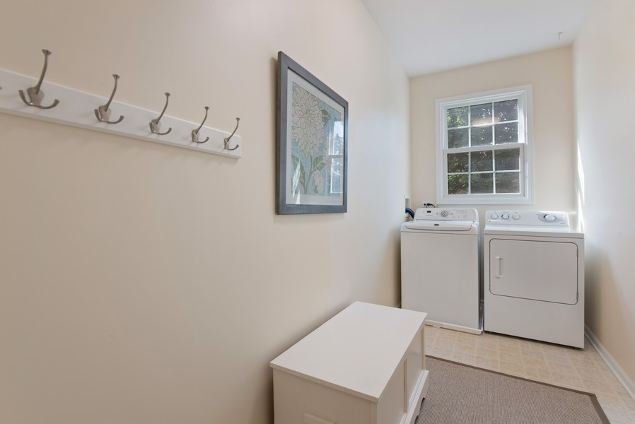 Real Estate Photography - 8420 Watson Cir, Lakewood, IL, 60014 - Laundry Room