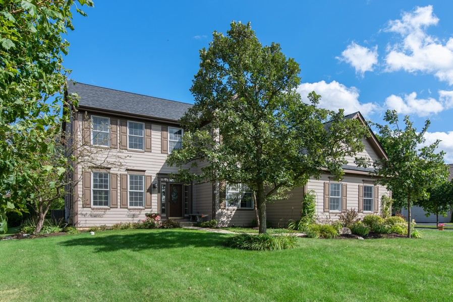 Real Estate Photography - 8420 Watson Cir, Lakewood, IL, 60014 - Front View