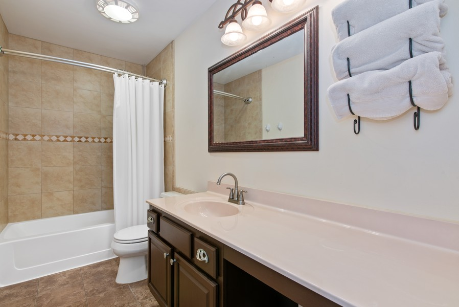 Real Estate Photography - 8420 Watson Cir, Lakewood, IL, 60014 - 2nd Bathroom