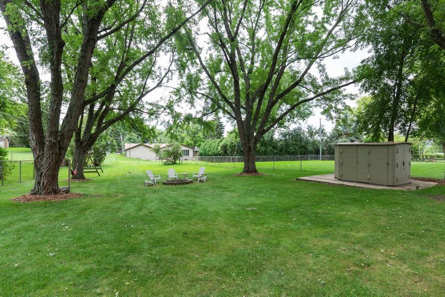 Real Estate Photography - 19 Walnut Ln, Algonquin, IL, 60102 - Back Yard