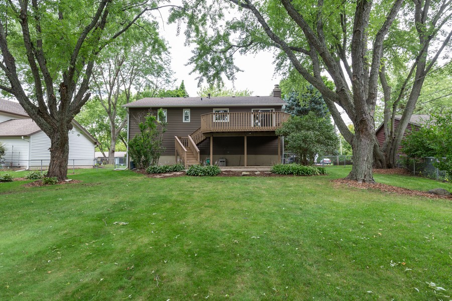 Real Estate Photography - 19 Walnut Ln, Algonquin, IL, 60102 - Rear View