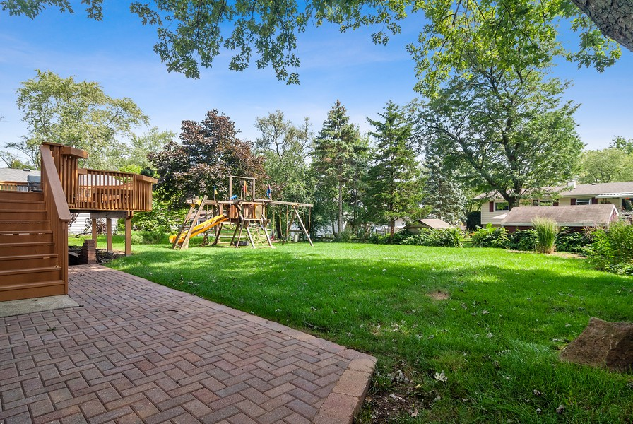 Real Estate Photography - 5805 Clover Dr, Lisle, IL, 60532 - Back Yard