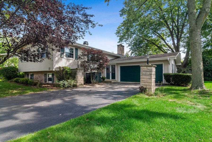 Real Estate Photography - 5805 Clover Dr, Lisle, IL, 60532 - Front View