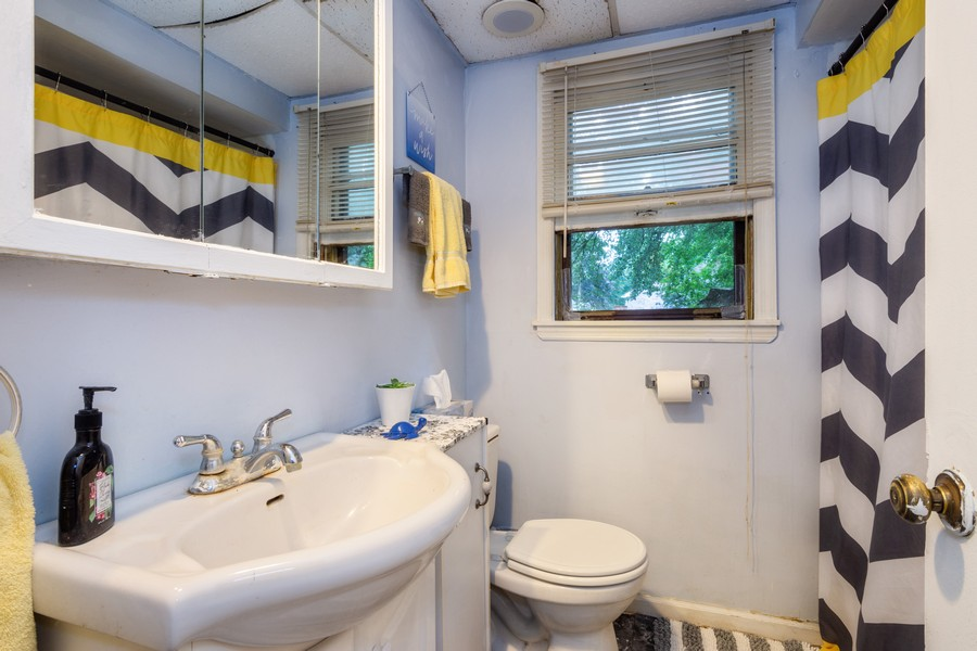 Real Estate Photography - 636 North Hough St, Barrington, IL, 60010 - Bathroom